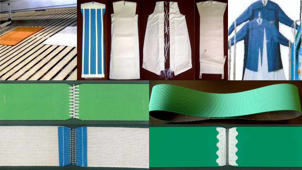 Textile equipments for laundry machines